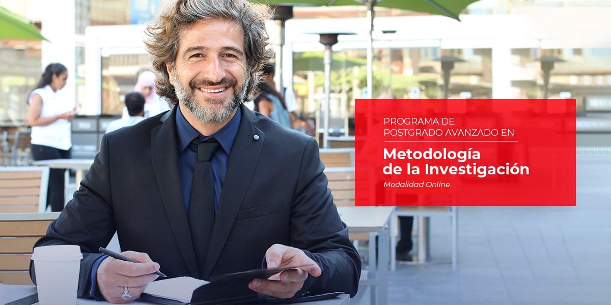 Programa de Postgrado Avanzado Online en Metodología de la Investigación