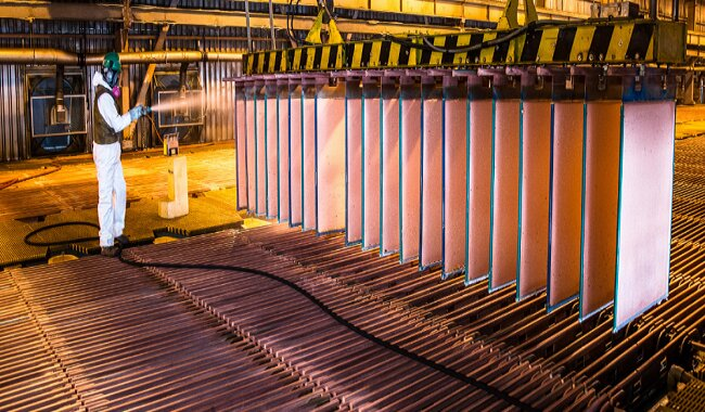 Southern y Las Bambas impulsaron en 4% la producción de cobre de julio