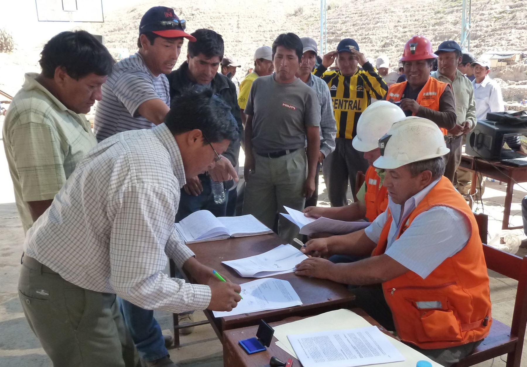 Asistirán a mineros en proceso de formalización en Madre de Dios