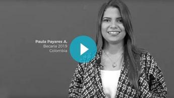 Vídeo Testimonio Paula Payares