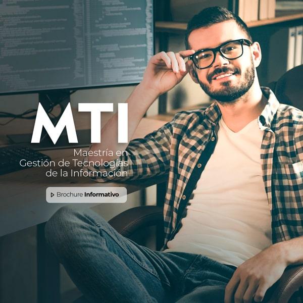 Banner Maestría en Gestión de Tecnologías de la Información Online