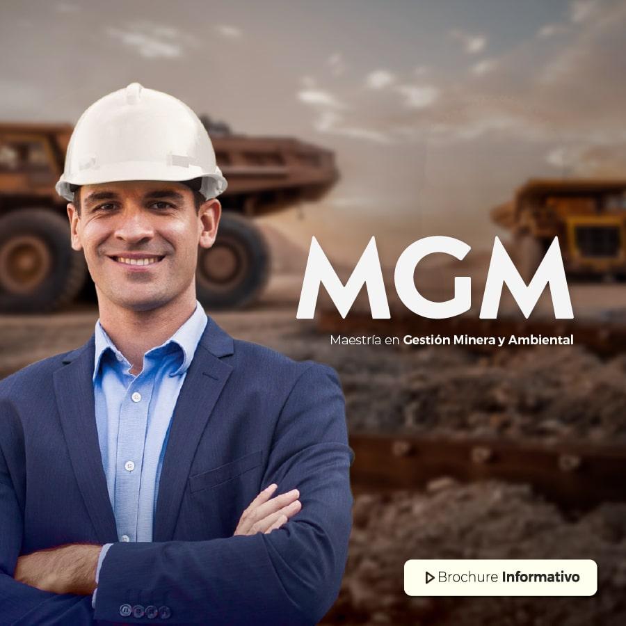 Banner Maestría en Gestión Minera y Ambiental Online