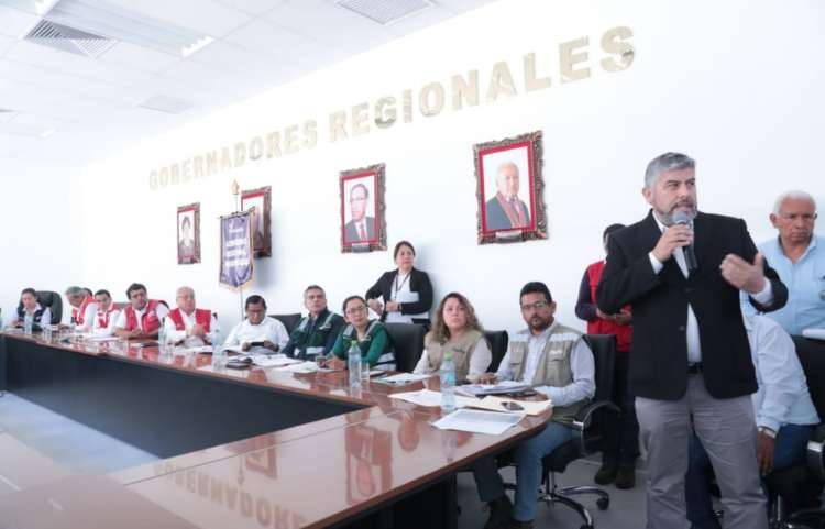 OEFA cumple compromisos asumidos en el Grupo de Trabajo de Tumilaca en Moquegua