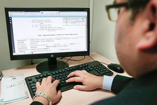 Digitalización de la justicia mejora atención al litigante