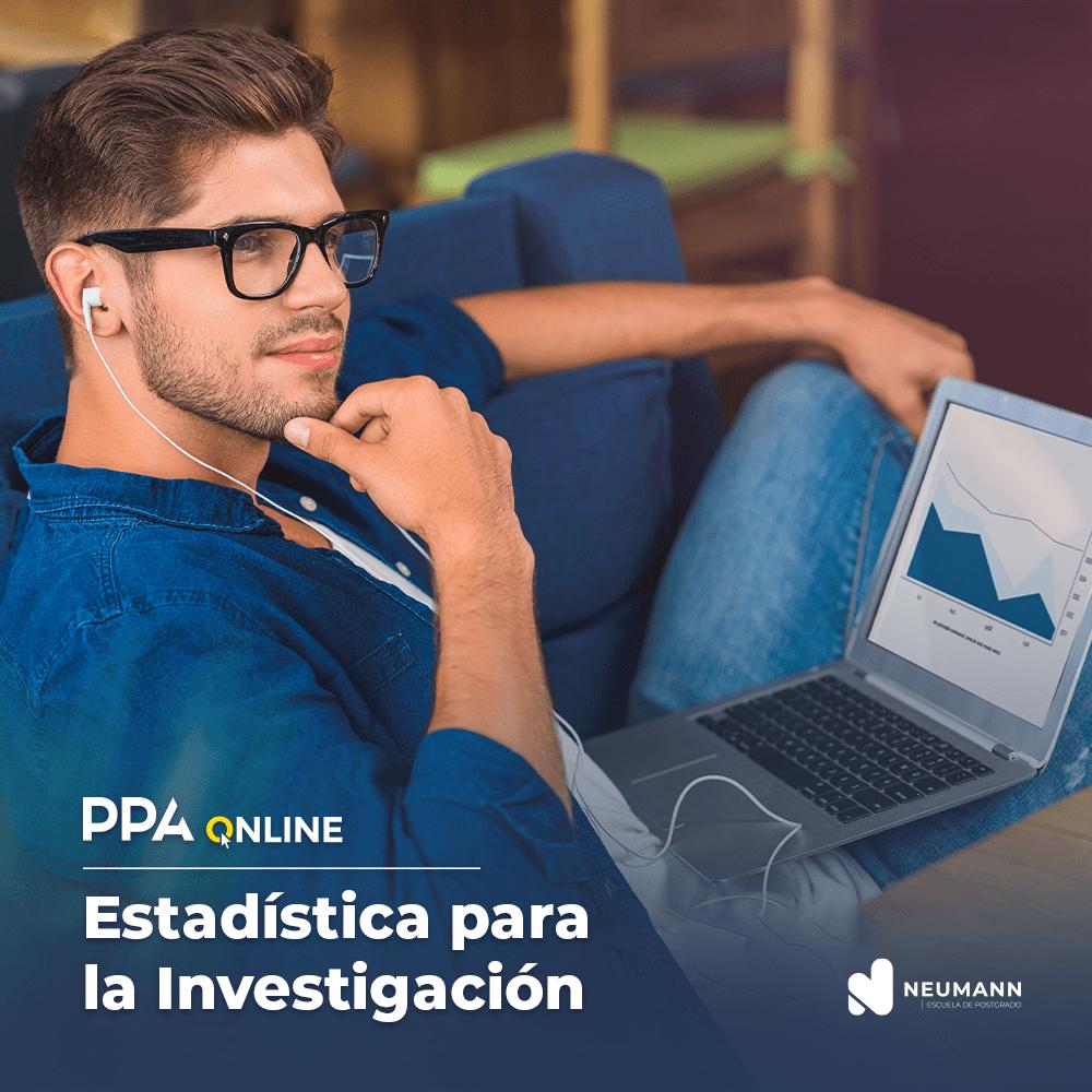 PPA Online en Estadística para la Investigación