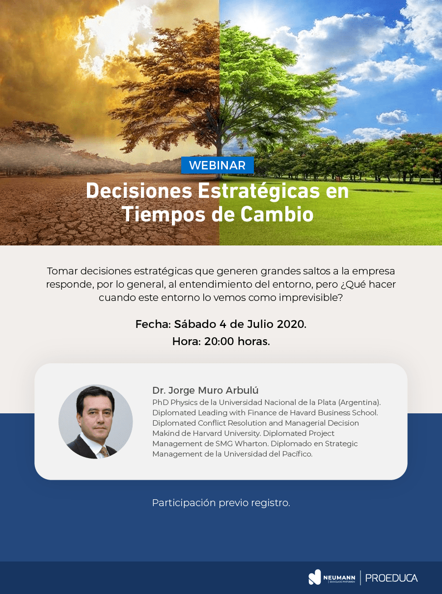Webinar Decisiones Estratégicas