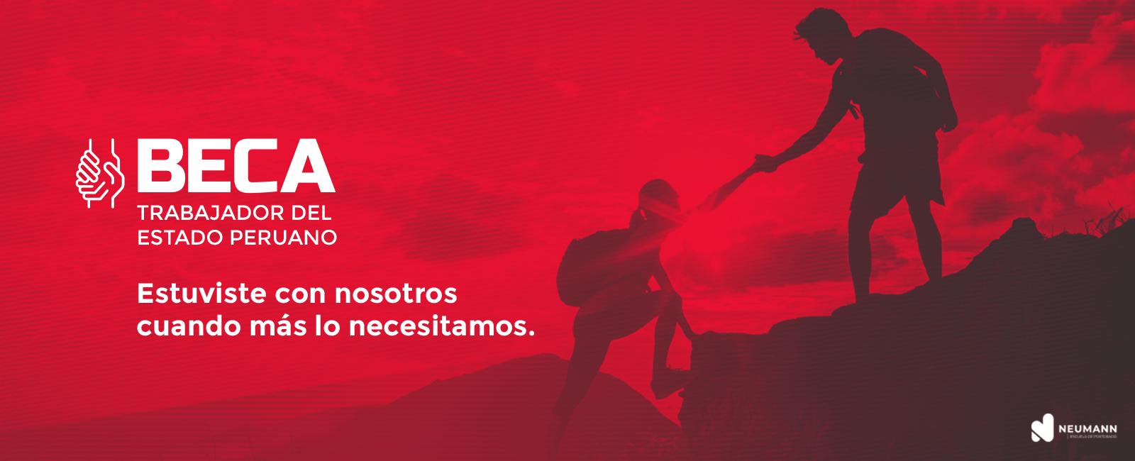Beca Trabajador del Estado Peruano