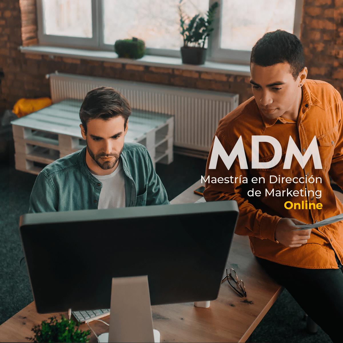 Banner Maestría en Dirección de Marketing Online