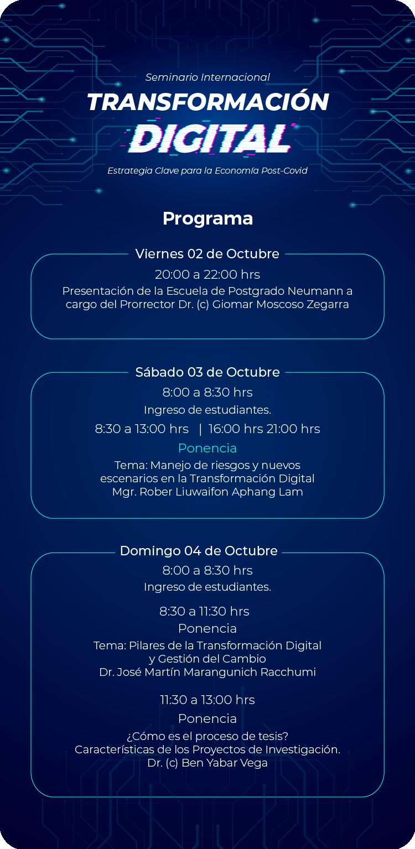 Programa Seminario MTI 2020